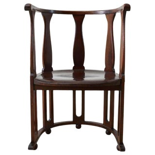 Josef Hoffman Attributed Vienna Secession Armchair #720 For Sale