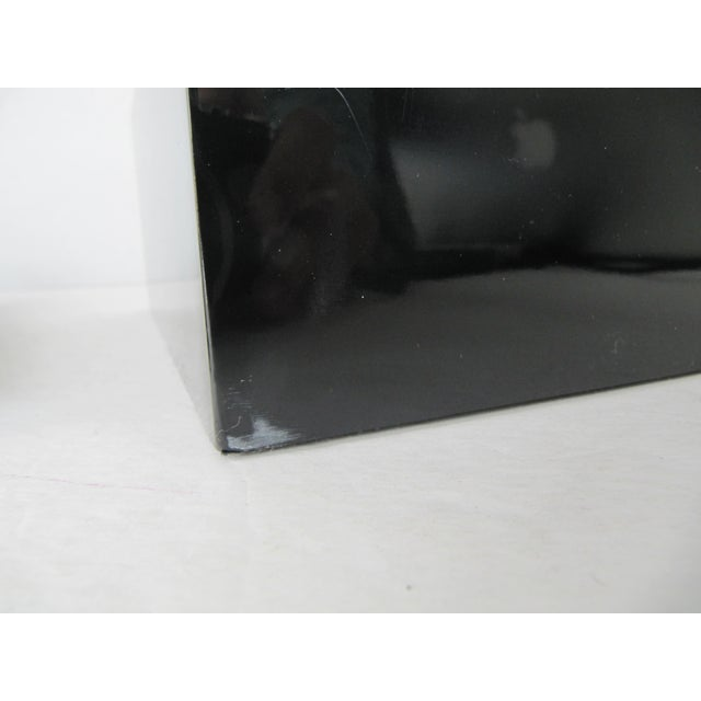 Minimalist Black Lacquer Box - Image 4 of 6