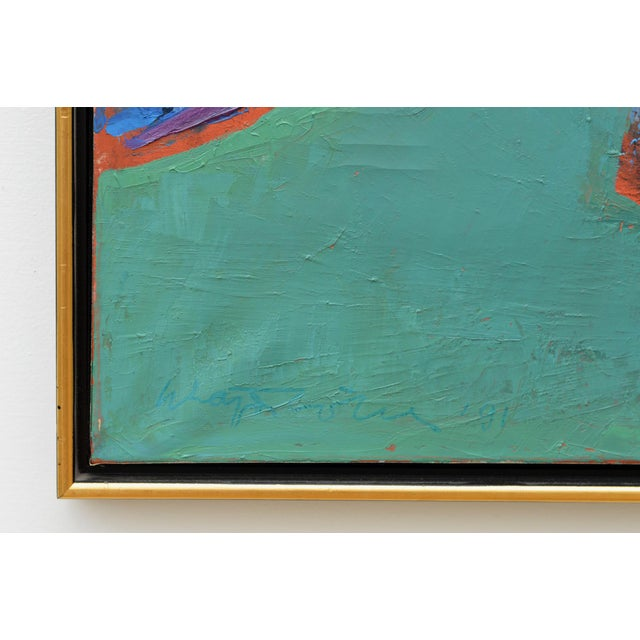 Sublime Modern Abstract Painting For Sale - Image 9 of 13