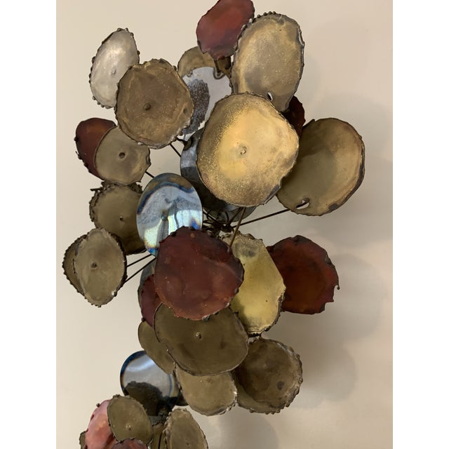 """Curtis Jere Vintage 1979 """"Raindrops"""" Sculpture in the Manner of Curtis Jere For Sale - Image 4 of 13"""
