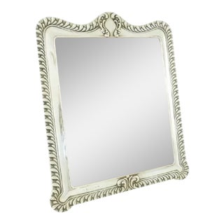 Antique Victorian English Sterling Silver Picture Frame For Sale