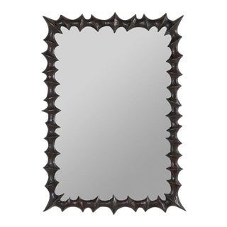 French Brutalist Mirror For Sale