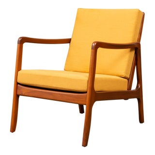 Ole Wanscher Lounge Chair for France & Søn For Sale