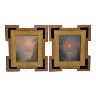 Mid 19th Century Tropical Landscapes by Thomas Clark C.1850s - a Pair For Sale