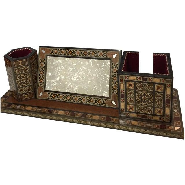 Wooden Desk Organizer - Image 1 of 5