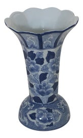 Image of Blue and White Vases