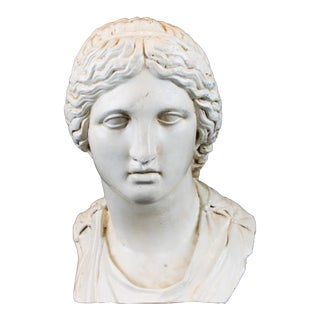 Cast Greek Female Bust