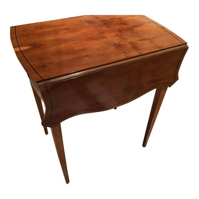 Baker Drop Leaf Side Table For Sale