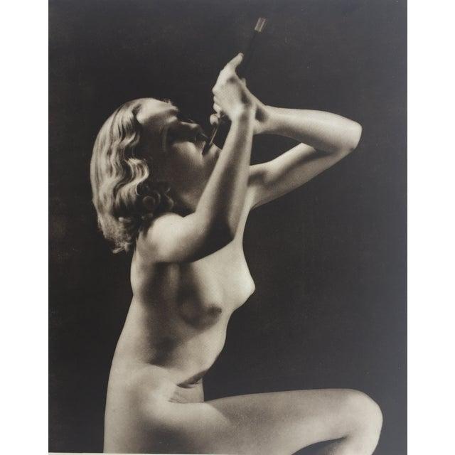 John Eeverard 1930 Vintage Nude Photogravure - Image 1 of 4