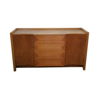 Johan Tapp Gumps Mid Century Faux Bamboo Sideboard For Sale