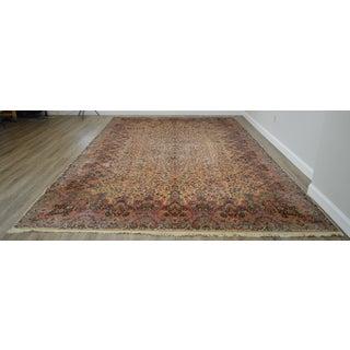 Karastan 10'x16' Kirman Vintage Large Room Size Carpet Rug #759 Preview