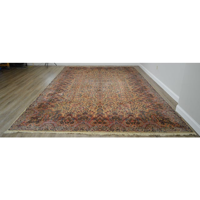 High Quality Vintage Wool Room Size Carpet by Karastan Model #759
