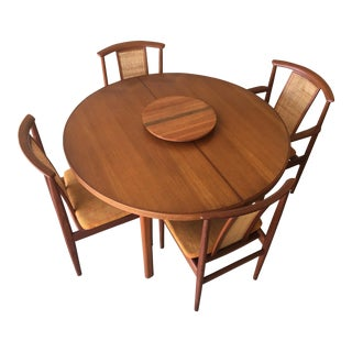 Folke Ohlsson for DUX Teak Dining Table & Chairs - Dining Set