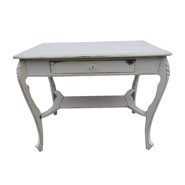 Vintage French Shabby Chic Style Desk - Image 1 of 7