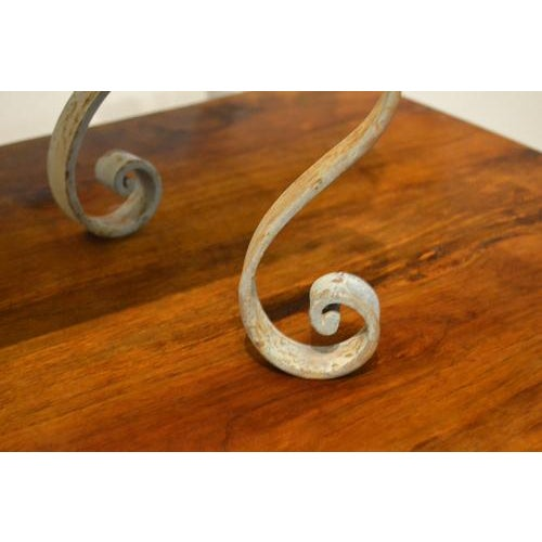 Oblong Iron Planter From France For Sale - Image 9 of 10