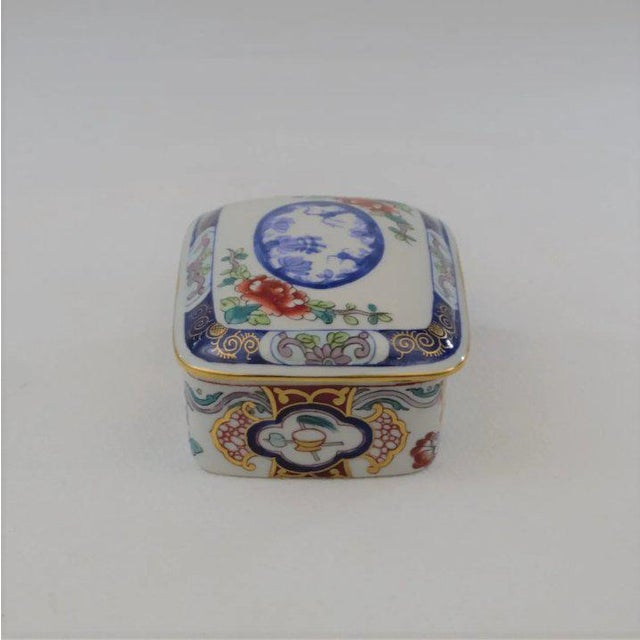 Ceramic Tiffany Private Stock LeTallec Box For Sale - Image 7 of 9