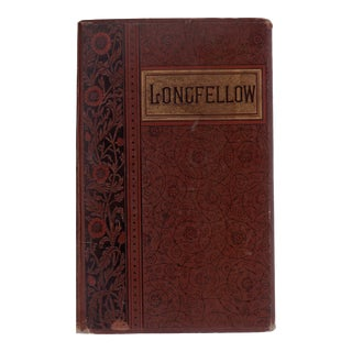 """1888 """"Poetical Works of Henry Wadsworth Longfellow"""""""