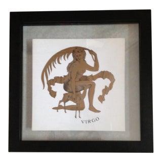 Fornasetti Zodiac Virgo Print For Sale