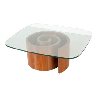 Vladimir Kagan for Selig Snail Table For Sale