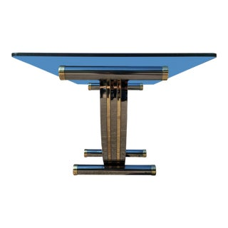 Modern Art Deco Dining Table by Romeo Rega For Sale