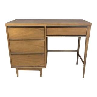 1960s Johnson Carper Style Mid Century Writing Desk For Sale