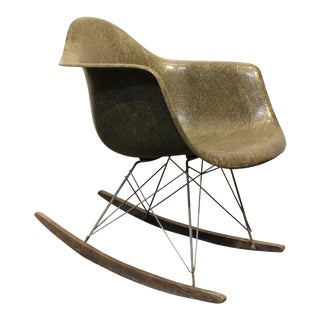 Charles & Ray Eames for Herman Miller Rar Rocking Chair, 1950's, Greige Color. For Sale