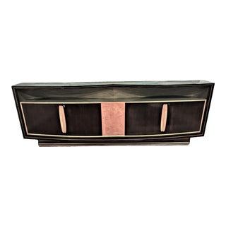 La Permanante Mobili Canto Italian Art Deco Credenza For Sale