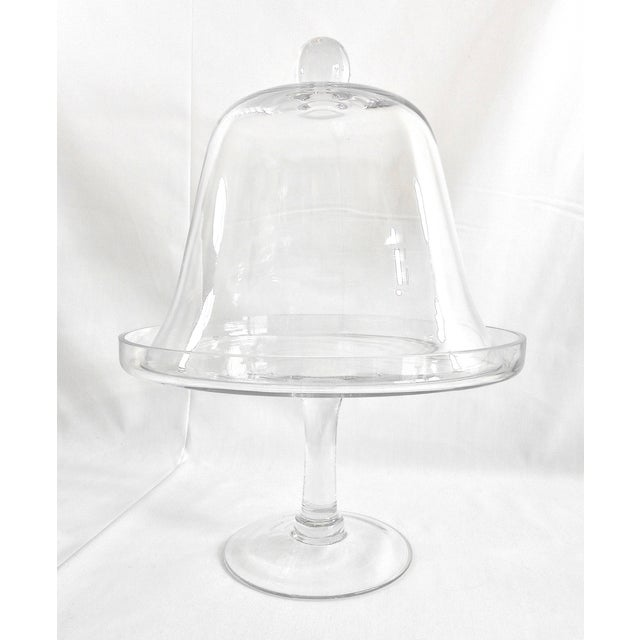 Glass Cake Stand With Dome Cover - Image 4 of 6