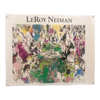 """1980s LeRoy Neiman """"Game of Life"""" Casino Print For Sale"""