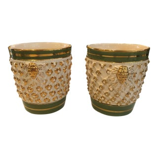 1940s Italian Planters - a Pair For Sale