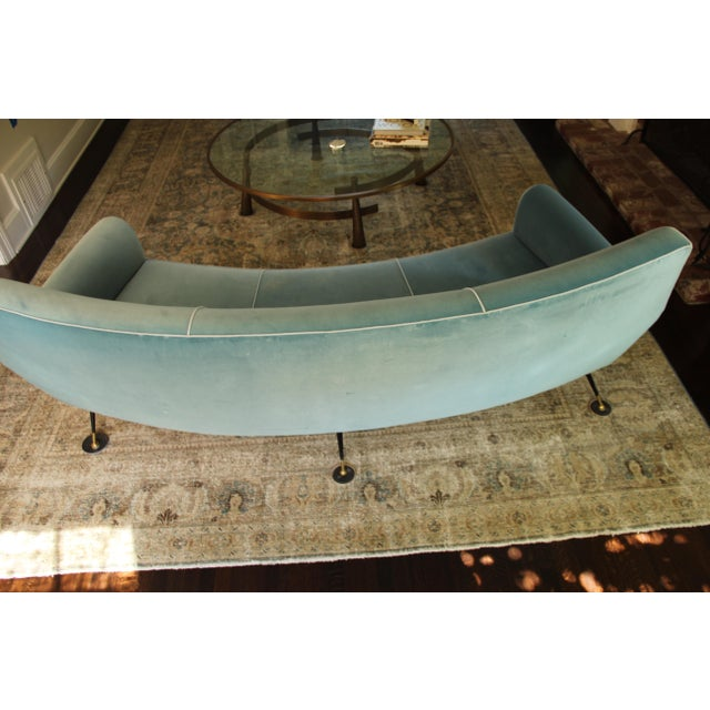 Curved Sofa by Gigi Radice for Minotti - Image 2 of 3