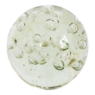 Vintage Italian Art Glass Sphere Paperweight