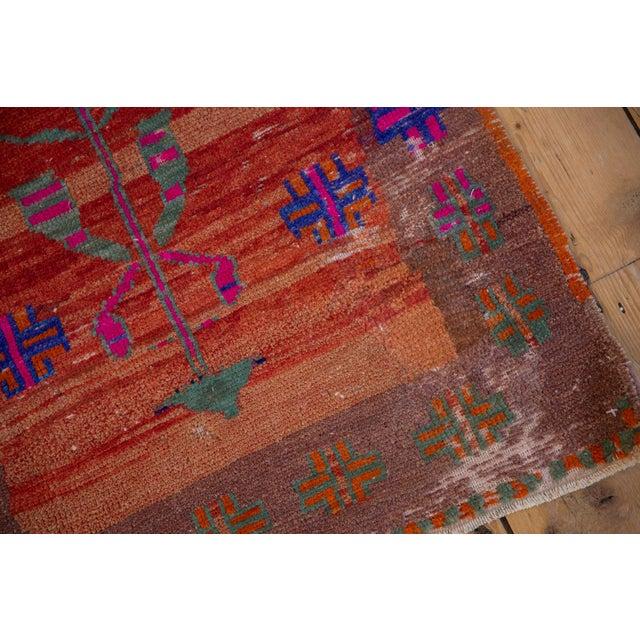 "Textile Vintage Distressed Oushak Rug - 2'4"" X 3'7"" For Sale - Image 7 of 10"