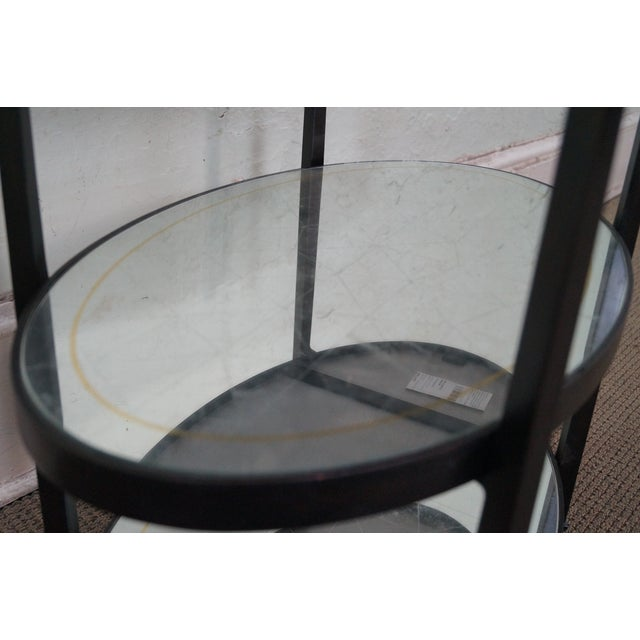 Jonathan Charles Luxe Collection 3 Tier Side Table For Sale In Philadelphia - Image 6 of 10