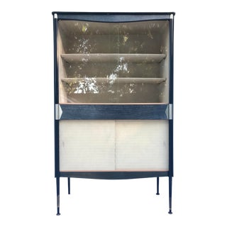 1940's Vintage Art Deco Mid-Century Dry Bar For Sale