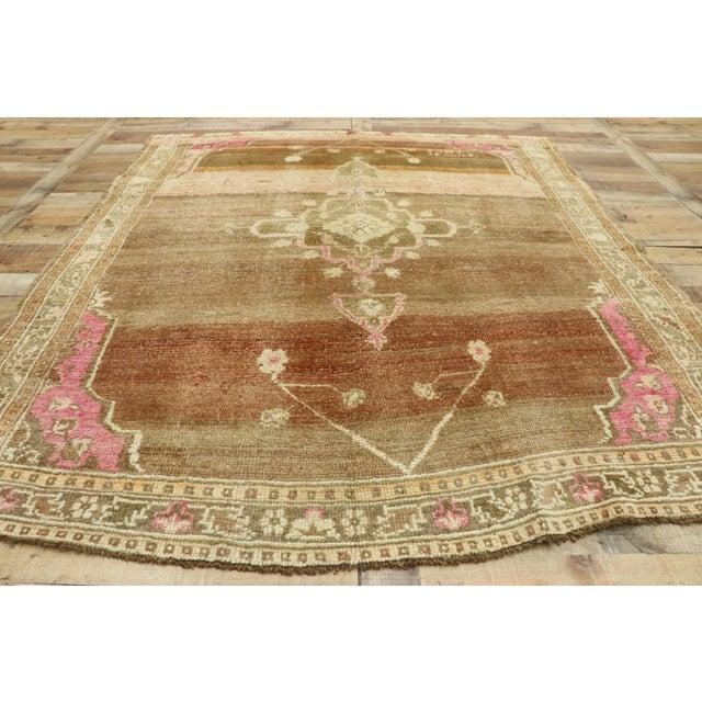 Textile Vintage Turkish Kars Rug - 5′11″ × 7′ For Sale - Image 7 of 10