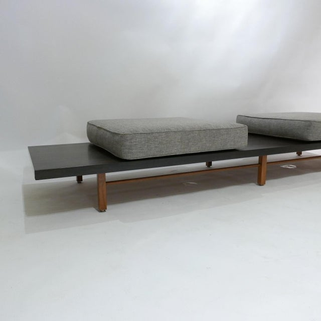 Milo Baughman for Thayer Coggin Low Table or Gallery Bench With Cushions For Sale In New York - Image 6 of 13