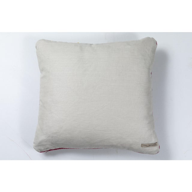 Swat Valley Embroidery Pillow For Sale - Image 4 of 5