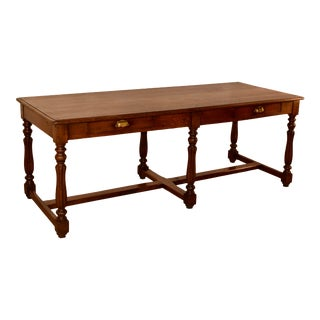 19th C English Drapers Table19th Century English Drapers Table For Sale