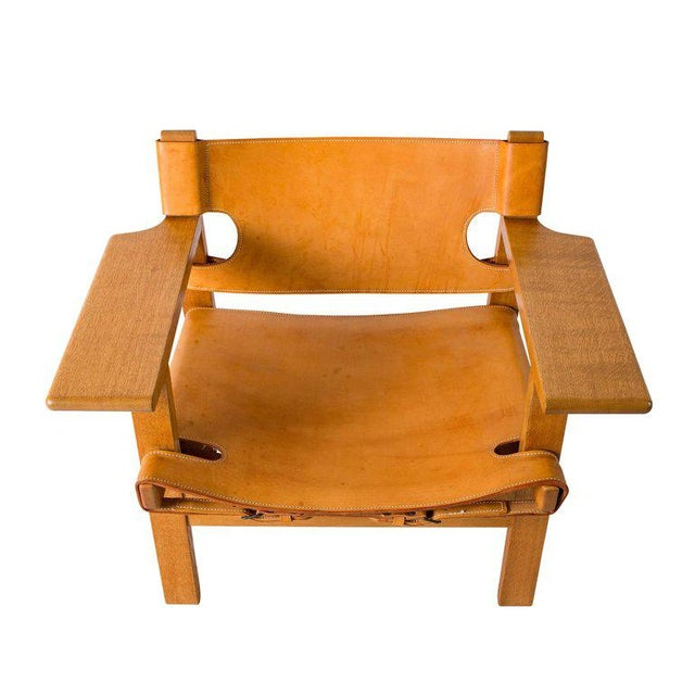 "Børge Mogensen ""Spanish"" Chair - Image 6 of 10"