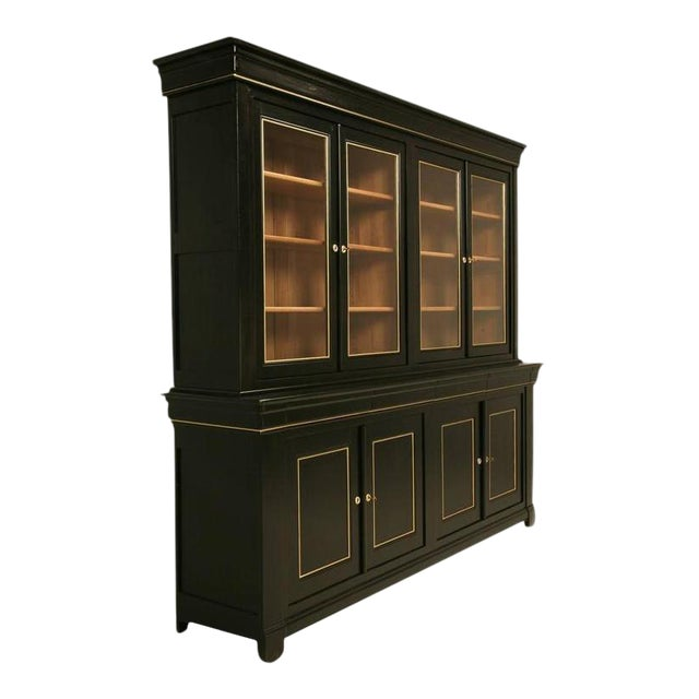 Louis Philippe Style Bookcase - Image 1 of 10