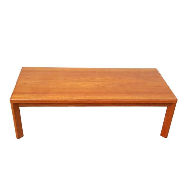 Vejle Stole Denmark Danish Modern Teak Coffee Table - Image 1 of 8