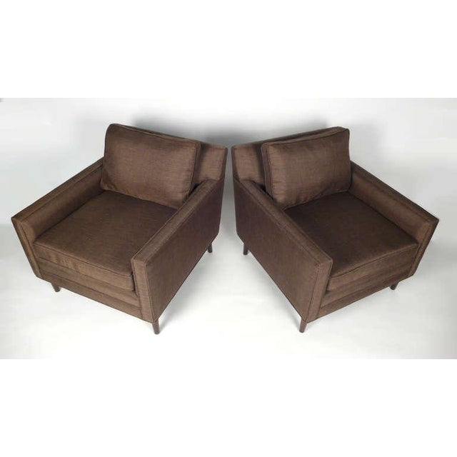 Mid-Century Modern Club Chairs by Harvey Probber For Sale - Image 3 of 10