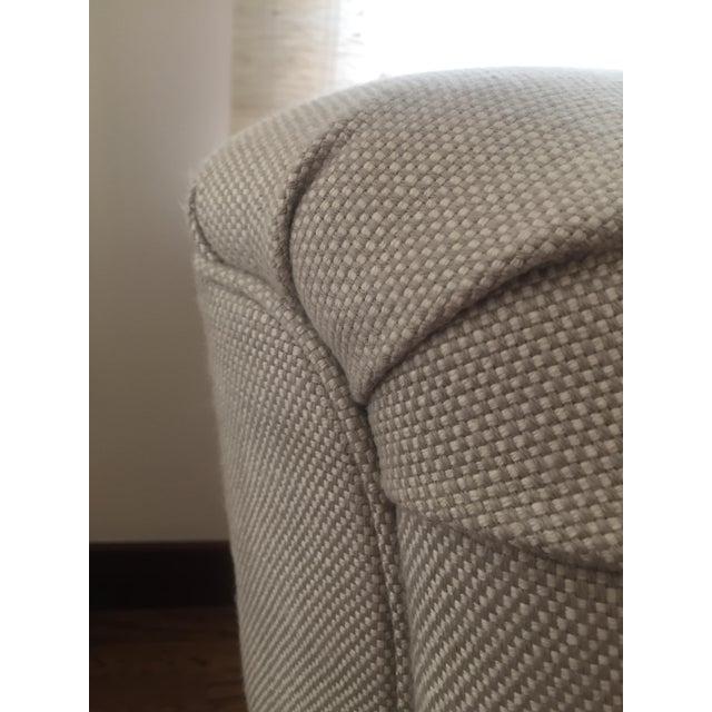 Classic Patricia Edwards Custom Chair & Ottoman Set - Image 7 of 8