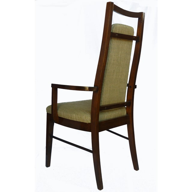1960's Dining Room Chairs in Walnut - Set of 6 - Image 4 of 9