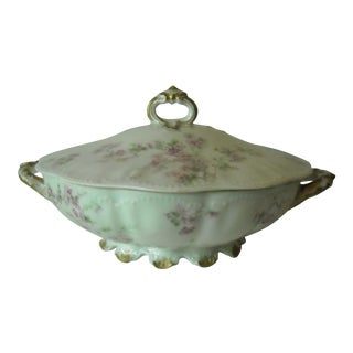 Antique Limoges Covered Serving Dish