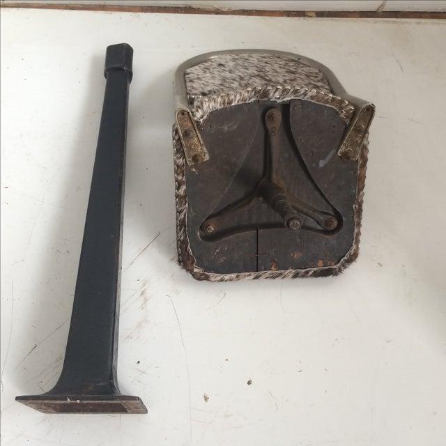 Antique 1930' S Stools - Pair - Image 6 of 8