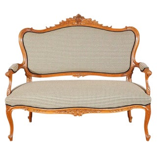 Antique Louis XV Style Canape For Sale