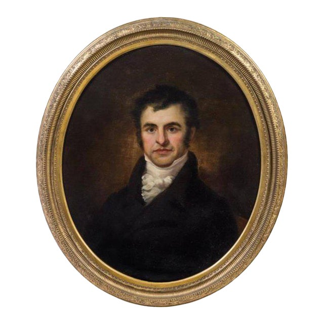 Artist Unknown 19th Century Portrait of Robert Burns Oil on Canvas For Sale - Image 4 of 4
