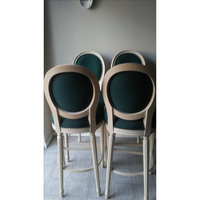 French Louis XVI Style Bar Stools - 4 - Image 6 of 10